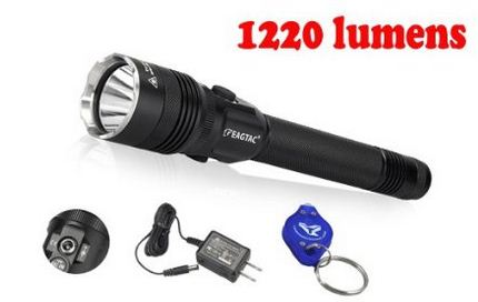 2015 Ver. EagleTac GX25L2 CREE XML2 U2 Rechargeable Police Tactical Flashlight