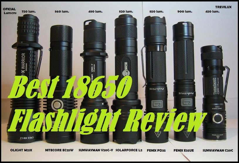 Best 18650 Flashlight Review