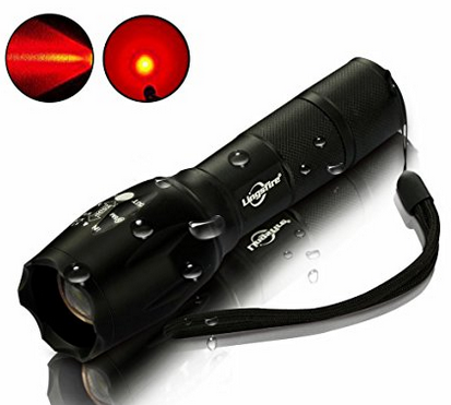 red led flashlight