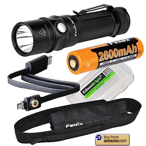 Fenix RC11 1000 Lumen USB rechargeable CREE LED Flashlight