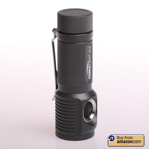 Weight: 2 oz. Measurements: 3.375 inches in length and 0.58 inch width Battery: 1 x AAA Low setting: 15 lumens for 7 hours Medium setting: 75 lumens for 2 hours Most astounding setting: 300 lumens for 60 minutes